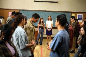 The line game in Freedom Writers