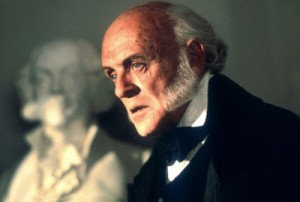 Anthony Hopkins as John Quincy Adams